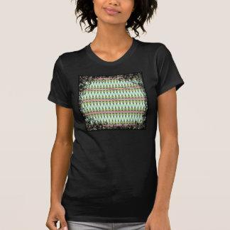 Zigzags tribales aztecas de Chevron de las Camisetas