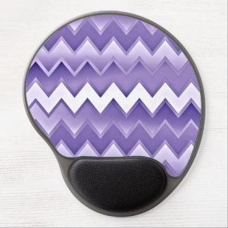 Zigzaguea simplemente - la púrpura alfombrilla gel