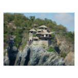 Zihuatanejo Cliffside Impresiones