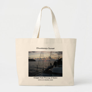 Zihuatanejo Sunset from Moira in anchorage Bags