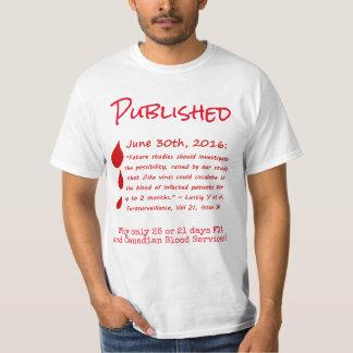 Zika Viral RNA in Blood Months Shirt by RoseWrites
