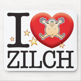Zilch Love Man Mouse Pad