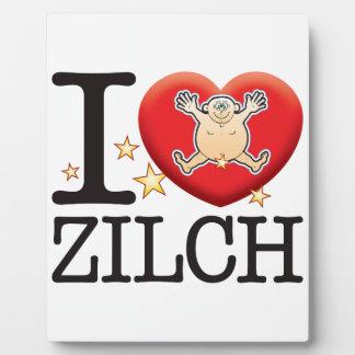 Zilch Love Man Plaque