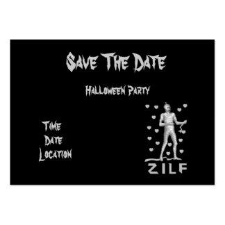 Zilf Zombie Business Card Templates