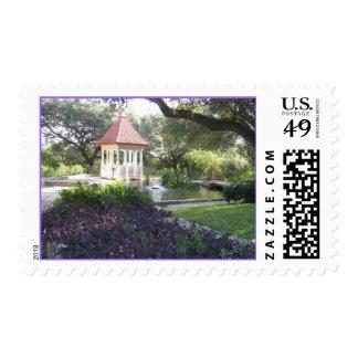 Zilker Botanical Gardens, Austin, TX postage