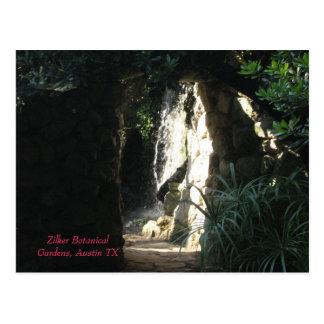 Zilker Botanical Gardens, Austin TX Postcard