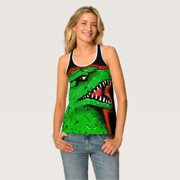 Halloween Themed ZILLA GIANT MONSTER LIZARD by Jetpackcorps Tank Top