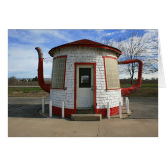 Zillah Teapot Dome Gas Station Card