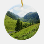 Zillertal alps christmas tree ornament
