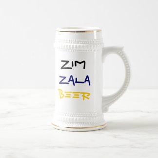Zim Zala Beer! Beer Stein