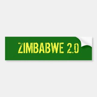 ZIMBABWE 2.0 BUMPER STICKER