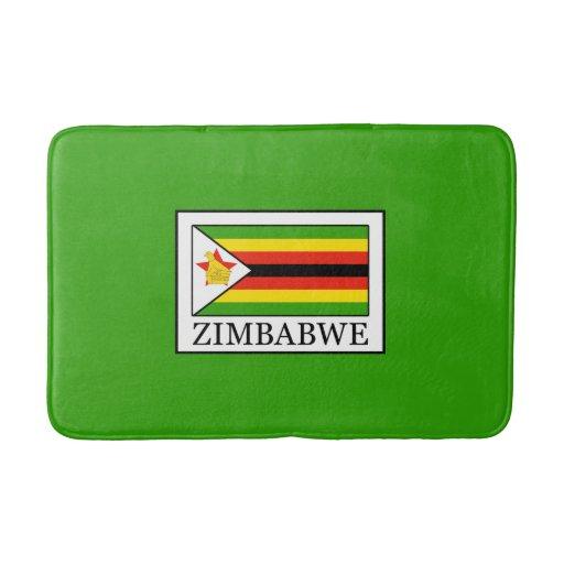 Zimbabwe bathroom mat zazzle for Bathroom designs zimbabwe