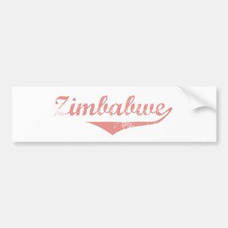 Zimbabwe Car Bumper Sticker