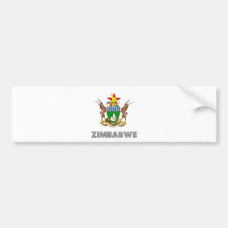 Zimbabwe Coat of Arms Bumper Stickers