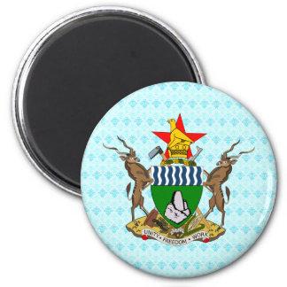 Zimbabwe Coat of Arms detail Refrigerator Magnet