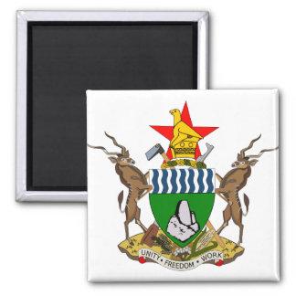 Zimbabwe Coat of Arms detail Magnet
