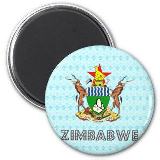 Zimbabwe Coat of Arms Magnets