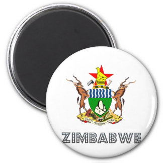 Zimbabwe Coat of Arms Refrigerator Magnets