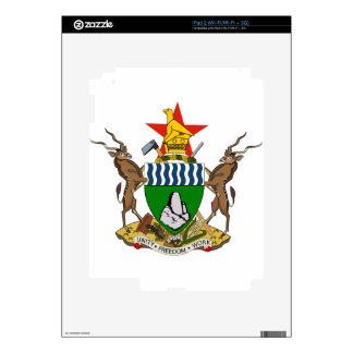 Zimbabwe Coat of Arms Decal For The iPad 2