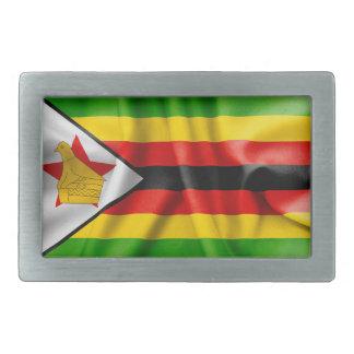 Zimbabwe Flag Belt Buckle