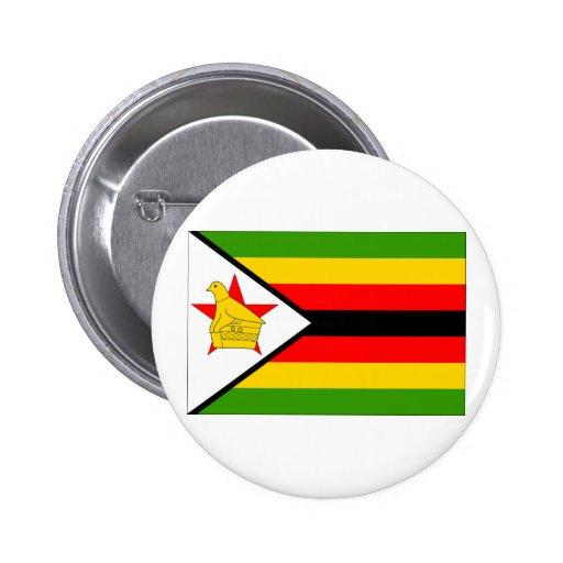 Zimbabwe Flag Pin