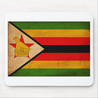 Zimbabwe Flag Mousepads