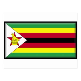 Zimbabwe Flag Post Cards