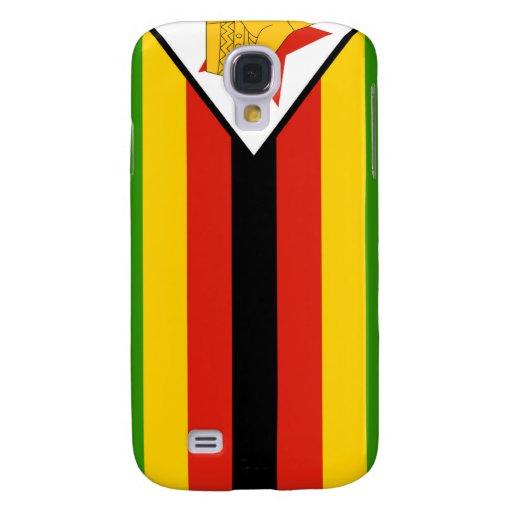 Zimbabwe Flag Samsung Galaxy S4 Cover