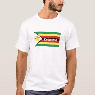 Zimbabwe flag souvenir t-shirt