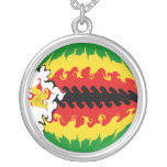 Zimbabwe Gnarly Flag Jewelry