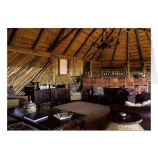 Zimbabwe, Hwange National Park, Linkwasha lodge. Greeting Cards