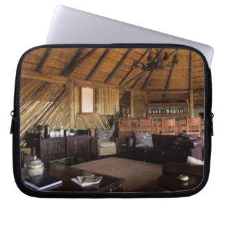 Zimbabwe, Hwange National Park, Linkwasha lodge. Laptop Computer Sleeves