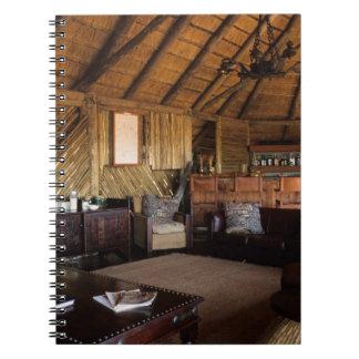 Zimbabwe, Hwange National Park, Linkwasha lodge. Notebook