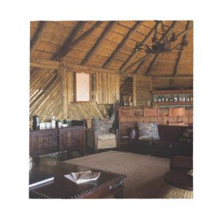 Zimbabwe, Hwange National Park, Linkwasha lodge. Memo Pad