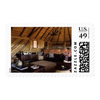 Zimbabwe, Hwange National Park, Linkwasha lodge. Stamps
