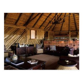Zimbabwe, Hwange National Park, Linkwasha lodge. Postcard