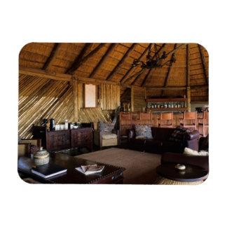 Zimbabwe, Hwange National Park, Linkwasha lodge. Vinyl Magnet