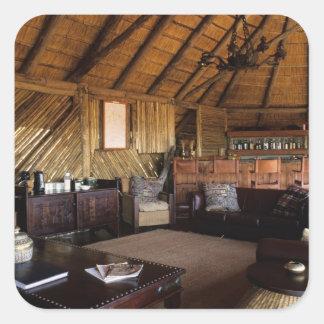 Zimbabwe, Hwange National Park, Linkwasha lodge. Sticker