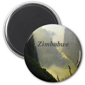 Zimbabwe Imán Redondo 5 Cm