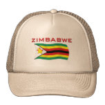 Zimbabwe National Flag (1) Trucker Hat