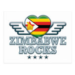 Zimbabwe oscila v2 tarjeta postal