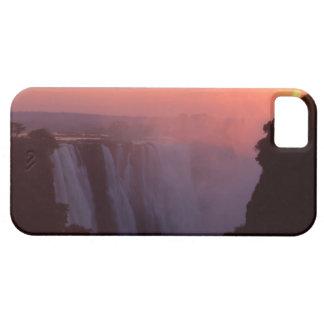 Zimbabwe, parque nacional de las cataratas iPhone 5 carcasa