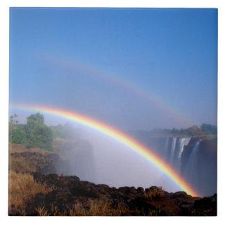 Zimbabwe, parque nacional de las cataratas Victori Azulejo Cuadrado Grande