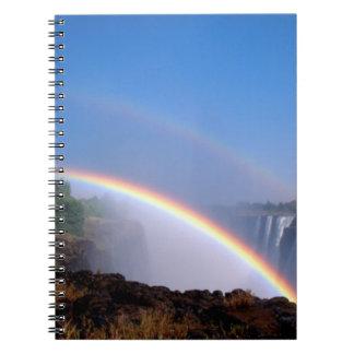 Zimbabwe, parque nacional de las cataratas Victori Libros De Apuntes Con Espiral