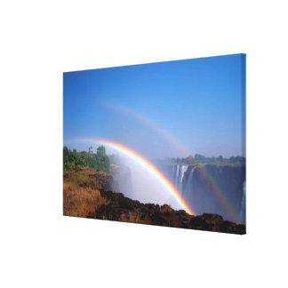 Zimbabwe, parque nacional de las cataratas Victori Lienzo Envuelto Para Galerias