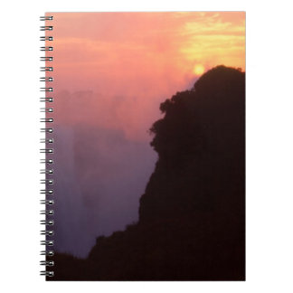 Zimbabwe, parque nacional de las cataratas Victori Note Book