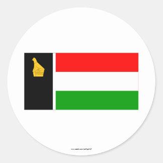 Zimbabwe Rhodesia Flag (1979) Pegatina Redonda