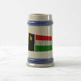 Zimbabwe Rhodesia Waving Flag 1979 Coffee Mugs