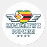 Zimbabwe Rocks v2 Stickers