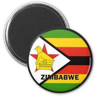 Zimbabwe Roundel quality Flag Refrigerator Magnets